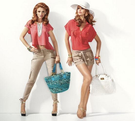 Американская марка одежды для женщин BEBE представляет восхитительную коллекцию одежды летнего сезона 2012.