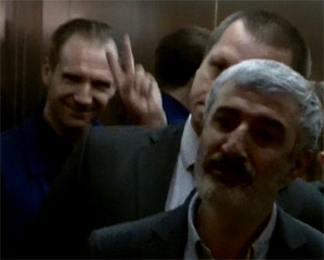 Рэйф Файнс в Москве! Фанаты сошли с ума...
