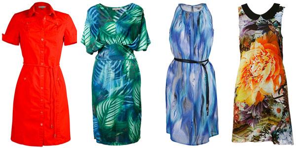 Коллекции летних платьев платьев