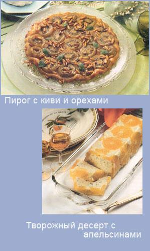 Праздничные десерты