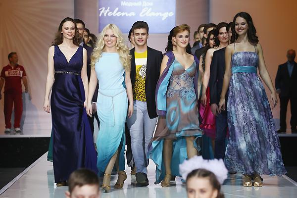 «Школьный бал» от Helena Elange на Чемпионате Европы в Кремле